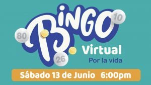 Bingo Virtual por la Vida a beneficio de ALCCI