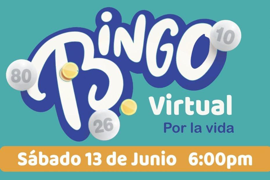Bingo Virtual por la Vida a beneficio de ALCCI