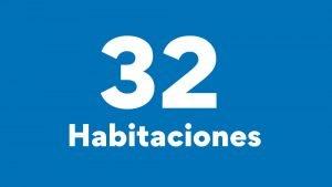 32 Habitaciones